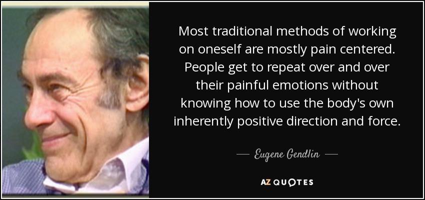 Een mens is interactie (Eugene Gendlin)